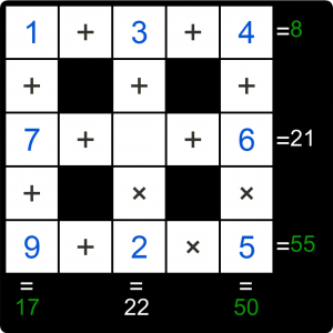 Puzzle Page Cross Sum September 2 2019 Answers