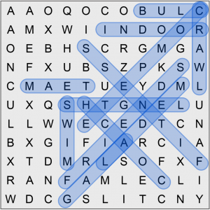 Puzzle Page Word Search September 3 2019 Answers