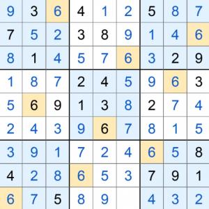 Puzzle Page Sudoku November 19 2019 Answers