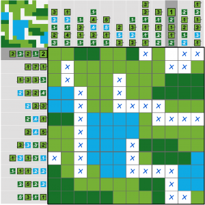 Puzzle Page Picture Cross January 14 2020 Answers