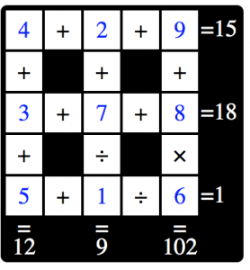 Puzzle Page Cross Sum February 14 2020 Answers
